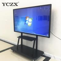China 65 Inch Multi Touch Screen Monitor / Interactive Panel Board For Classroom for sale