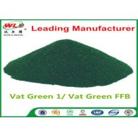 Buy cheap C I Vat Green 1 Brilliant Green Natural Indigo Dye Powder CAS 128-58-5 from wholesalers