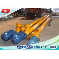 Quality Electric Engine Stainless Steel Screw Auger Conveyor With 273mm 219mm 323mm Diameter wholesale