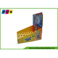 Buy cheap Table Top Corrugated Counter Display Equips LCD Screen For Toys CDU041 from wholesalers