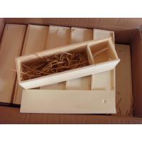 Quality wooden box with slid lid wholesale