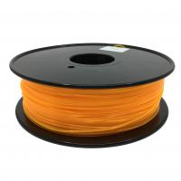 Quality Fluorescent Orange HIPS 3d Printer Filament 1.75mm For Makerbot No Odor wholesale