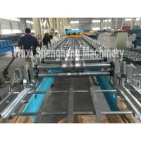 Colored steel sheet roll forming machine for making roof panel at yield stress