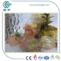 Quality 3mm - 8mm Patterned frosting window glass , laminated frosted glass wholesale