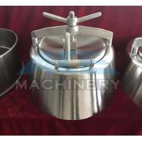 Quality SS304 SS316L Stainless Steel Round Tank Cover Manway With Glass Panel wholesale
