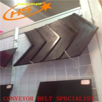 China Closed V chevron pattern milling machines used rubber conveyor belt on sale