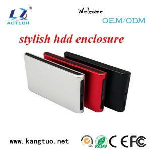 China Aotech wholesale external usb3.0 SATA 2.5 hdd enclosure on sale