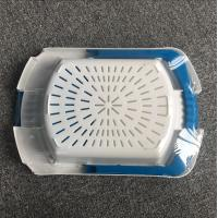 Quality Hanging Plastic Cutting Board Wear Resistant 42 * 29 * 7cm With Non Slip Feet wholesale