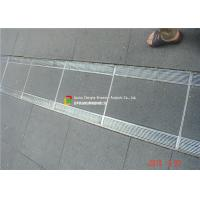 Quality 316 / 304 Stainless Steel Bar Grating High Bearing For Trench Cover wholesale