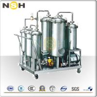 Quality High Oil Yield Rate Lubricating Oil Purifier For Dewater / Degas / Remove Impurities wholesale