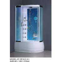 Cheap Safety Complete Shower Cabins Left / Right ABS Complete Shower Room With Tray for sale