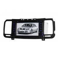 Quality In Dash Car GPS Navigation System With MP3 MP4 WMA , Car GPS DVD wholesale
