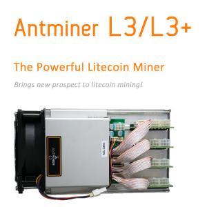 Bitcoin Device Bitmain Antminer L3+ (600Mh) Mining Scrypt Algorithm DGB Coin 850W Power Psu