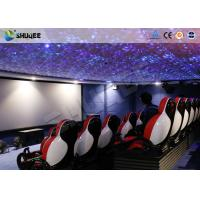 Quality 30 People Motion Chairs XD Theatre With Cinema Simulator System / Special Effect wholesale
