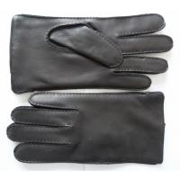 Quality China factory supply fashion cheap leather men deerskin leather gloves wholesale