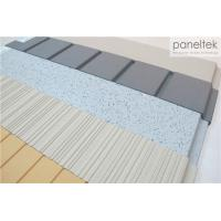 Quality Clay Exterior Wall Panels With Lined / Grooved / Polished Different Finish wholesale
