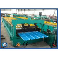 China Curving Roof Panel Roll Forming Machine Custom For Glazed Color Steel on sale