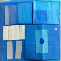China Operation Room Sterile Surgical Packs Wrapper 100x100cm High Tearing Strength on sale
