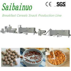 China New Design Breakfast Cereals Production Plant Kellogg's Corn Flakes Machine on sale