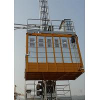 Quality Personnel Construction Material Hoist Payload Capacity 2000Kg With Q345 Steel Material wholesale
