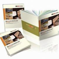 China Professional Magazine / Flyers / Photo Album Book Printing with Frosting, Embossing Textures and Patterns on sale