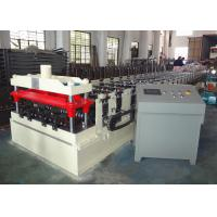 Buy cheap PLC Controlled Automatic Roll Former , Metal Floor Deck Roll Forming Machine from wholesalers