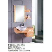 cheap cheap small size pvc mdf solid wood hanging floating wall mounted bathroom vanity bathroom