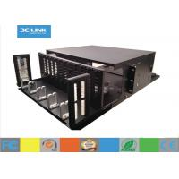 Quality 144 Cores 4U Rack Mounted Optical Distribution Frame Patch Panel High density wholesale