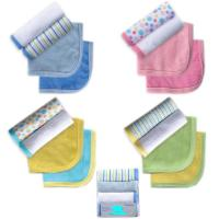 4pcs newborn baby boy girl unisex knitted terry fabric for Unisex baby fabric