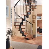 China Rustproof Cast Iron Stair Railing For Spiral Staircase / Straight Staircase on sale