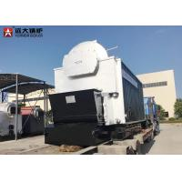 Quality 10 Ton Bagasse Fired Steam Boiler , Large Stove Biomass Boiler For Paper Mill wholesale