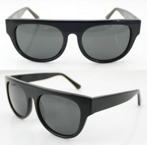 Quality Modern Women Acetate Frame Sunglasses , Polarized Sun Glasses wholesale