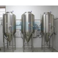 Quality Hot Sale Jacketed Stainless Steel Conical Fermenter For Beer&  Beer Tank 1000L For Sale wholesale