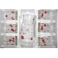 Quality Glass Teapot 7PCS Set/Glass Jug wholesale