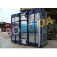Quality 2000kgs Operator Cab Construction Material Hoist Dual Cage SC2000 / 200 wholesale