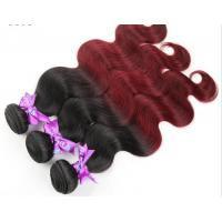 Quality Wine Red Hair Ombre Human Hair Extensions 12
