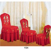 China Factory price table cloths and chair cover banquet chair cover (Y-24) on sale