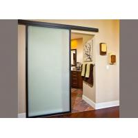 Quality Impact Resistant Decorative Tempered Glass 4mm Thickness Frosted Safety Glass wholesale