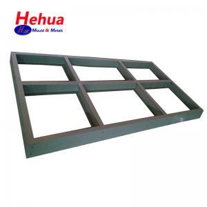 Quality Custom Structural Sheet Metal Fabricated Aluminium Brass No Bur Sharp Edge wholesale