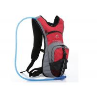Quality Red Nylon & Dacron Cycling Water Pack , 2L Hydration Backpack For Hiking wholesale