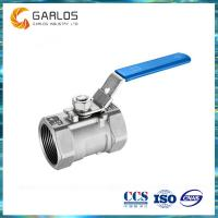 Quality 1PC female thread stainless steel ball valve wholesale