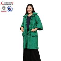 Quality 2018 traditional hottest elegant fancy long chinese winter women coat wholesale