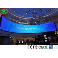 China P3.91 Indoor Curve Stage LED Screens In Video LED Display Ready to Ship on sale