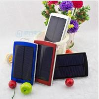 China 10000mAh solar Panel Portable charger power bank Battery for iPhone 6 5S Samsung on sale
