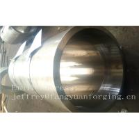 Quality S S Forged Steel Products / Forged Ring Flange Cylinder With Machining wholesale