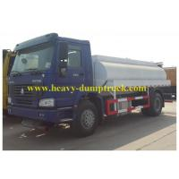 Quality SINOTRUK HOWO Chassis Oil Tank Truck With 16000L 25m3 Tank Volume Capacity wholesale