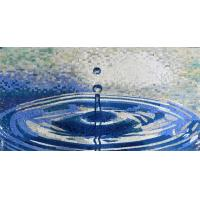 Quality Waterdrop Ruffle Marble Mosaic Outdoor Wall Art Handmade Craft Mirror Patterned Mosaic Tiles wholesale