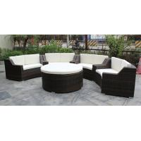 China 5 piece -Hotel conference room meeting chairs with rattan round ottoman commercial furniture-16200 on sale