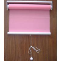 China Spring Polyester Patterned Roller Blind Manual Control Embossed on sale
