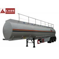 Quality Heavy Oil Fuel Tank Trailer Widely Used To Transport , Tractor Trailer Fuel Tank wholesale